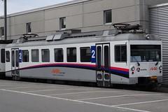 AAR Electric motor unit type Be4/4  modernised in 2009-2010. (Franky De Witte - Ferroequinologist) Tags: de eisenbahn railway estrada chemin fer spoorwegen ferrocarril ferro ferrovia