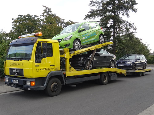 MAN L2000 Car Transporter