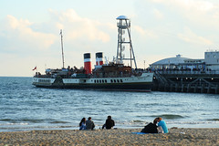 The Waverley (legacymomentsphotography) Tags: sea canon boat paddle steamer bournemouth waverley the 400d