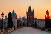 Czech Atmosphere (Nomadic Vision Photography) Tags: winter heritage sunrise europe prague historic atmospheric theczechrepublic jonreid thecharlesbridge tinareid nomadicvisioncom