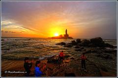5534 - Statue of Thiruvalluvar, Kanyakumari (chandrasekaran a 34 lakhs views Thanks to all) Tags: sea india saint statue tamilnadu philosopher kanyakumari thiruvalluvar tamils thirukural canoneos760d
