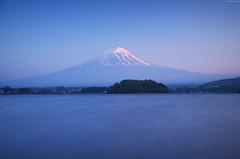 Mount Fuji from Lake Kawaguchi (Iyhon Chiu) Tags: mountain lake japan spring mountfuji d750    mtfuji kawaguchi yamanashi   2015 lakekawaguchi  nd110 bwnd110
