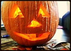 Time for Halloween . . . (n2photos2009) Tags: pumpkin wax halloween october hampton virginia n2photos rmay carve fun kids decorate light event orange glow