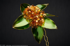 2015    Fragrant olive 04 ( sakae) Tags: hair out pin time olive cnn ornaments fragrant resin sakae  kanzashi