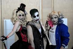 Cosplay : ComicCon Québec 2015 : Joker : Harley Quinn (eburriel) Tags: canada comics fun costume play cosplay picture makeup exposition québec disguise hero salon cosplayer dccomics marvel comiccon maquillage octobre heros コスプレ 2015 déguisements تأثيري