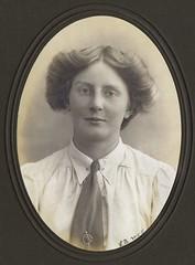 Charlotte Marsh, 1911.
