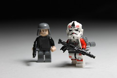 Shock Trooper ([C]oolcustomguy) Tags: trooper brick star starwars arms lego battle front imperial shock wars officer battlefront brickarms