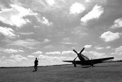 (Tog66) Tags: sky airplane fighter american ww2 duxford mustang airfield p51 iwm