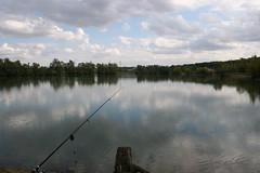Ribolov (Coka M) Tags: lake lac carpe saran pêche jezero pecanje fiching ribolov