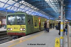 8638+8637 at Pearse, 5/12/15 (hurricanemk1c) Tags: dublin irish train rail railway trains railways dart irishrail pearse 2015 iarnród 8638 éireann iarnródéireann tokyucarcorp class8521 1215howthbray