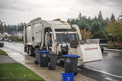 CCC LET2 - Wittke Starlight Garbage Truck (Thrash 'N' Trash Prodcutions) Tags: city urban usa white trash dumpster truck washington garbage crane body cab low dump disposal utility can front collection company sanitary ii rubbish co end vehicle wa environment service trucks fl ccc chassis waste refuse recycle loader recycling tilt carrier entry municipal sanitation fel poulsbo starlight the let2 wittke curotto