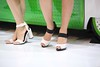 Hostess Tokyo Motor (carlotorinese) Tags: show sexy feet girl japan fetish asian tokyo high toes leg heels motor nylon 2015