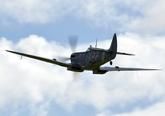 Spitfire (Bernie Condon) Tags: fighter military spit ww2 spitfire goodwood raf warplane vickers revival battleofbritain supermarine 2015 fightercommand