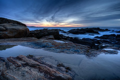 Point Lobos Infinity Pools (Minh C. Vu) Tags: sunset landscape pointlobos