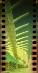 Brise-soleil (pho-Tony) Tags: camera film 35mm xpro crossprocessed fuji cross slide panoramic ishootfilm holes pinhole velvia homemade analogue domino 50 expired processed e6 malaga estenopeica sprocket stenope fujivelvia c41 homemadecamera 23mm filmisnotdead pinholecameras tetenal f99 estenopo dominocam dominopinhole