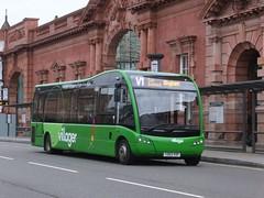 trent barton 505 Nottingham (Guy Arab UF) Tags: nottingham bus buses trent solo barton sr nottinghamshire 505 optare wellglade wellgladegroup yd63vdp