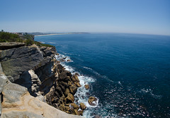 Cliff and more cliff (Guille Barbat) Tags: cliff nature sydney panoramic newsouthwales asutralia ladscapes freshwaterbeach curlcurlbeach guillebarbat