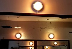 Caf de la Runion, Paris (blafond) Tags: lighting mirrors luminaire miroirs cafdelarunion