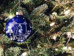 The first ornament on the tree every year.💙 #GoBlueDevils #LetsGoDuke 📷: @taylorduranceau (Duke University) Tags: ifttt instagram duke university