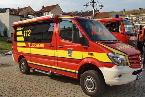 2014 Einsatzleitwagen (ELW) Mercedes-Benz Freiwillige Feuerwehr Meinigen