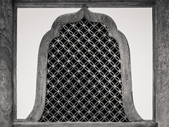 Bell Window (campra) Tags: japan sendai miyagi matsushima zuiganji temple buddhist architecture window lattice