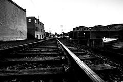 Wheaties (feelinviewtiful) Tags: 828 sylva nc mountains black white railroad silhouette