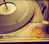 nothing like vinyl (Maureen Bond) Tags: recordplayer vinyl ca maureenbond circle round needle player records vintage classic music silvertonemedalist stereo antique