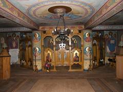 Barcánfalva, Templombelső