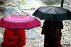 Rain in Sao Paulo (2) (Mahmoud R Maheri) Tags: saopaulo city brazil people rain street urban umbrella women