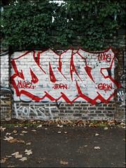 Dowt (Alex Ellison) Tags: dowt dfn eastlondon hackneywick urban graffiti graff boobs