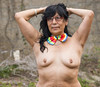 Mrs. Maria (mikejames24) Tags: sexy horney milf braless brunette mature latina topless nudest breast smalltits publicnude publicflashing baretits freckles housewife boobs outdoors 50