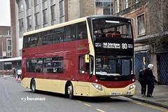 East Yorkshire 799, BP66VLB. (EYBusman) Tags: east yorkshire motor services eyms hull bus coach albion street city centre brand new mcv evoseti volvo b5tl bp66vlb eybusman