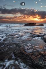 Cabo Cervera II (Jaime Hernández Pérez) Tags: cabo cervera alicante alacant españa spain rocks rocs sunrise amanecer nubes clouds tormenta storm largaexposicion longexposure reflejos reflection canon 80d canon1022 hitech filters waves olas