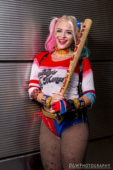 Harley Quinn (dgwphotography) Tags: cosplay nycc nycc2016 newyorkcomiccon 50mmf18g nikond600 nikoncls harleyquinn dccomics dc suicidesquad