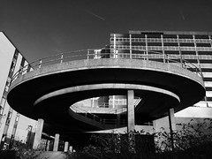 image (Kathi Huidobro) Tags: architecture concrete croydon 1960s ramp spiral london southlondon spiralramp cronx bw blackwhite retro urban urbanlandscape decay derelict urbandecay carpark brutalism brutalistarchitecture