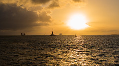 Key West Sunset (romanboed) Tags: oceankeyresortandspa leica m 240 summilux 50 usa florida key west sunset pier christmas outdoor seascape landscape ships sea golden sky