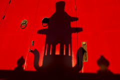 Red Lantern Shadow (josullivan.59) Tags: red wallpaper 3exp travel ontario outside october artisitic abstract architecture shadow day detail light lightanddark canon6d canada clear canonef24105mmf4lisusm nicelight minimalism niagarafalls 2016 door