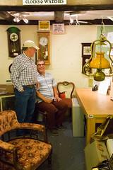 Old Gits 2! (staneastwood) Tags: staneastwood stanleyeastwood battlebridge antique bridgeinn rivercrouch people clock clockface chair armchair lamp oillamp