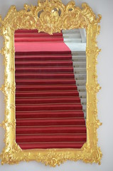 stairs in the mirror (Hayashina) Tags: bratislava staircase mirror red slovakia