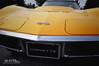Who You Callin' Yellow? (Hi-Fi Fotos) Tags: chevy chevrolet corvette vette c3 vintage american sportscar classiccar yellow vanity plate flags emblem nikon d5000 hififotos hallewell