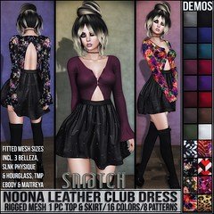 Sn@tch Noona Club Dress Vendor Ad LG (Tess-Ivey Deschanel) Tags: sntch snatch secondlife sl second style specials life clothing clubwear clothes casual mesh model meshclothing meshclothes models hot hair iveydeschanel ivey ihearts gothic goth games gaming game riotvend omgacha omegasystem outfits omega omegaappliers