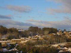 Snowy village (waldopepper) Tags: haworth westyorkshire