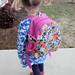 Les Fleurs Toddler Backpack