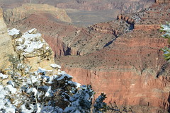 Grand Canyon 14 (Krasivaya Liza) Tags: grandcanyon grand canyon national park canyons nature natural wonder az arizona holiday christmas 2016 snowy winter cliffs cliffside edgeofcliff