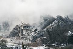 20170127_sprengung36_0087 (doerrebachtaler) Tags: stromberg kalkwerk explosion sprengung destruction demolition