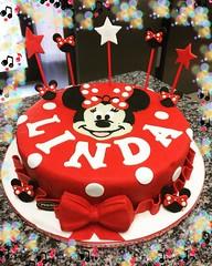 #buongiornogolosoni #tortacompleanno #tortaminnie #pastadizucchero #cakedesign #pastrypassion #pasticceriapeggi #follonica #ciaopaolo #andiamoavanti