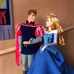 Happy Anniversary, SB! (Richard Zimmons) Tags: barbie mattel disneyland disneystore waltdisney sleepingbeauty doll phillip aurora