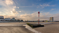 Margate beacon (J.W.Turner) Tags: margate harbour dreamland arlington beach sand groin beacon cloud sky blue thanet kent uk