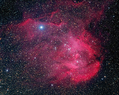 Running Chicken Nebula IC 2944 (whale05) Tags: astrometrydotnet:id=nova1968180 astrometrydotnet:status=solved science space gas ccd 16200 sensor