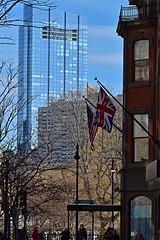 Millennium Tower (AntyDiluvian) Tags: boston massachusetts backbay park publicgarden building skyscraper millenniumtower architecture newburystreet